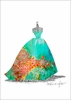 Ballgown Mediterranean Canvas Wall Art