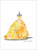 Ballgown Sunburst Canvas Wall Art