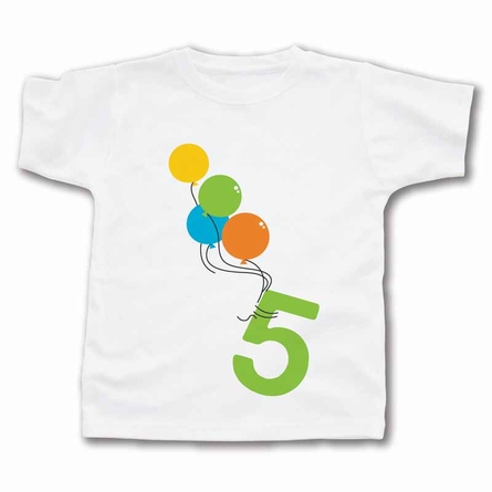 Balloon Birthday Personalized T-Shirt