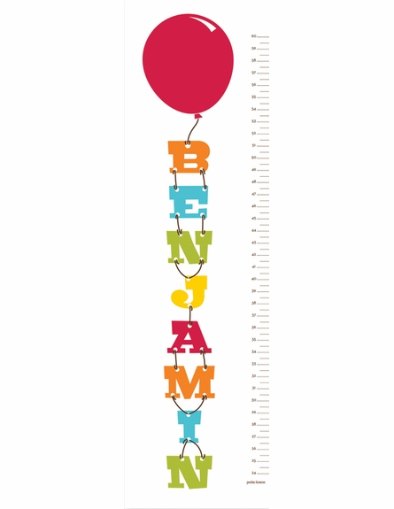 Balloon Party Growth Chart