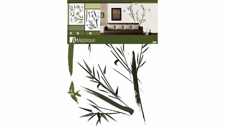 Bamboo Jungle Wall Decals