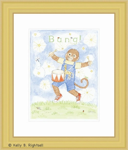 Bang Framed Lithograph