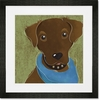 Barkley & Wagz - Chesapeake Bay Retriever Framed Art Print