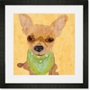Barkley & Wagz - Chihuahua Framed Art Print