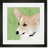 Barkley & Wagz - Corgi Framed Art Print