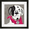 Barkley & Wagz - Dalmatian Framed Art Print