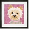 Barkley & Wagz - Yorkie Framed Art Print
