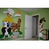 Barnyard Doorhugger Paint by Number Wall Mural