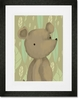 Barrington the Bear Framed Art Print
