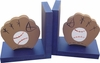 Baseball Bookends - Navy