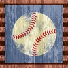 Baseball Canvas Wall Art