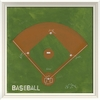 Baseball Field Framed Wall Art