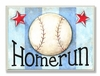 Baseball Homerun Wall Plaque