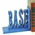 Baseball Letter Bookends
