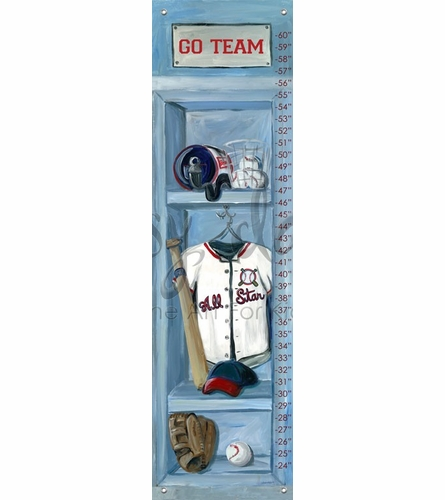 Baseball Locker Growth Chart