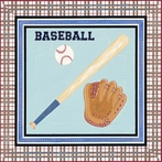 Baseball Sports Canvas Wall Art