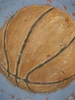 Basketball Game Day Canvas Reproduction