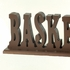 Basketball Letter Bookends