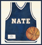Basketball Star Jersey Canvas Reproduction