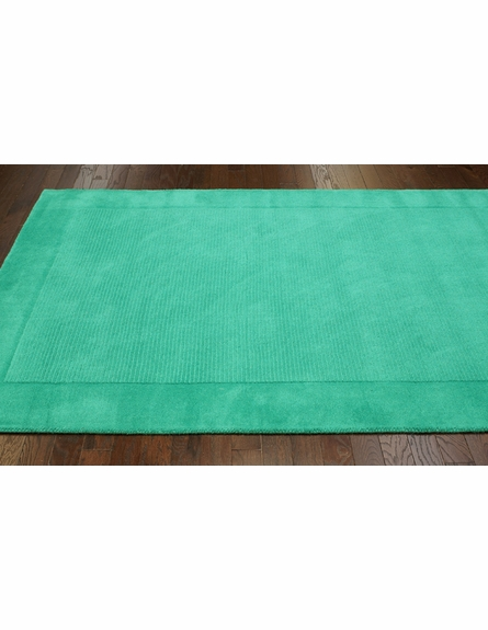 Baso Rug in Emerald