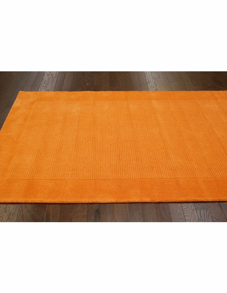 Baso Rug in Orange