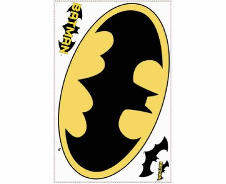 Batman Giant Logo Peel & Stick Applique