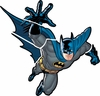 Batman Gotham Guardian Giant Peel & Stick Applique