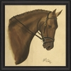 Bay Horse Framed Wall Art