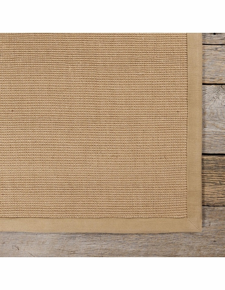 Bay Sisal Rug with Beige Border