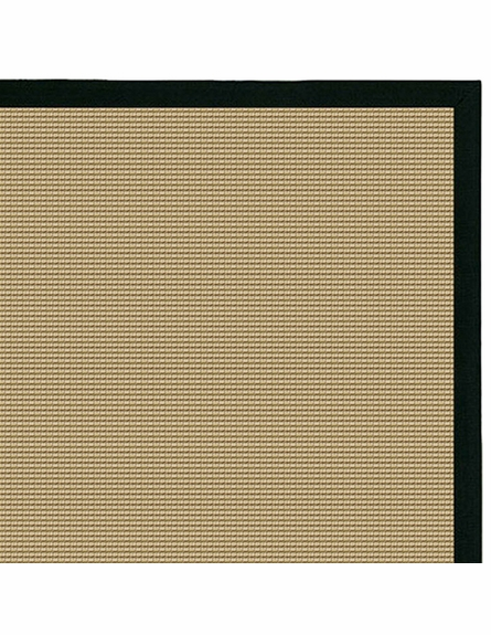Bay Sisal Rug with Black Border