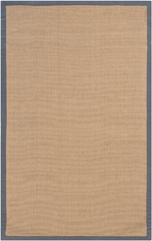 Bay Sisal Rug With Grey Border By Chandra Rugs