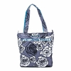 Be Light Diaper Bag in Charcoal Roses