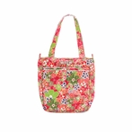 Be Light Diaper Bag in Perky Perennials