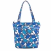 Be Light Diaper Bag in Sapphire Lace