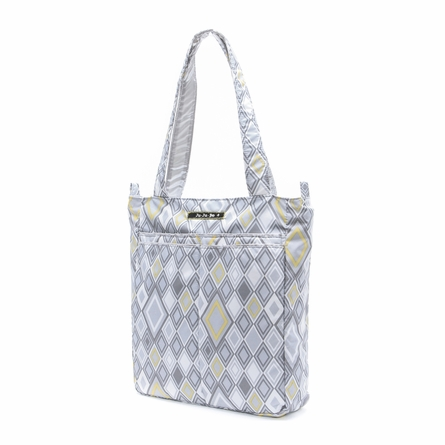 Be Light Diaper Bag in Silver Ice