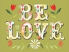 Be Love Canvas Wall Art