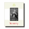 Be Merry Stone Picture Frame