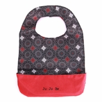 Be Neat Bib in Magic Merlot