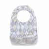 Be Neat Bib in Silver Ice