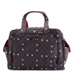 Be Prepared Diaper Bag in Magic Merlot