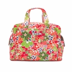 Be Prepared Diaper Bag in Perky Perennials