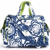 Be Prepared Diaper Bag in Cobalt Blossoms