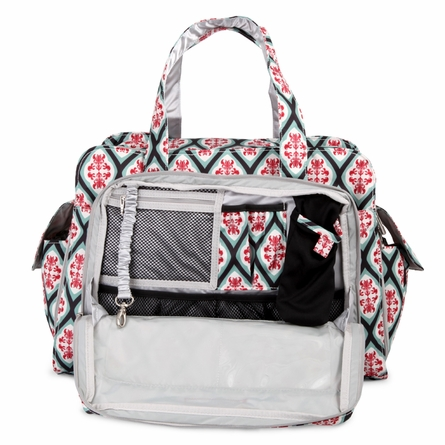 Be Prepared Diaper Bag in Dreamy Diamonds