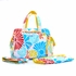 Be Prepared Diaper Bag in Flower Power