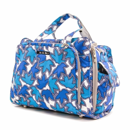 Be Prepared Diaper Bag in Sapphire Lace