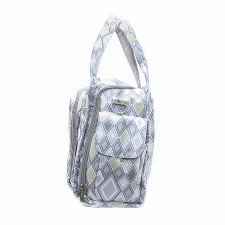 Be Prepared Diaper Bag in Silver Ice