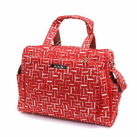 Be Prepared Diaper Bag in Syrah Syrah