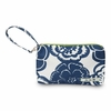 Be Quick Clutch Diaper Bag in Cobalt Blossoms