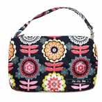 Be Quick Clutch Diaper Bag in Dancing Dahlias