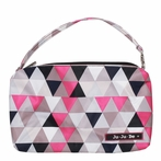 Be Quick Clutch Diaper Bag in Pinky Swear